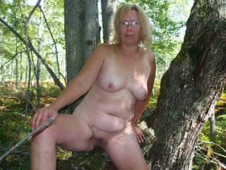 I've got what you crave and like you love the outdoors and get so horny hiking out on the trail out exhibitionist side will come out and this raging hard thick cock will have its big throbbing pounding that gorgeous hot pussy of yours right there under the tree and the excitement of someone watching....:-) Love that sexy hot body of yours!