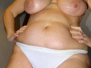 mmmmm id love to suck them tits as you fuck my cock
