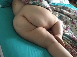 Open swollen hot pussy