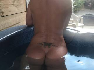 Nice afternoon in the spa with my nudist friend.