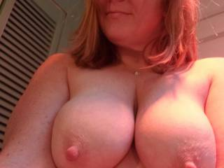 This is my smoldering, big nipples look. What do you think?