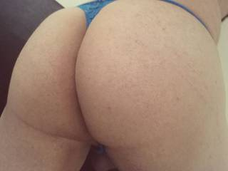 Ass shot with my thong