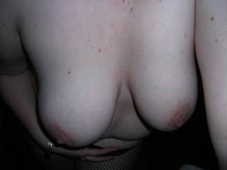 MY wife's beautiful tits!
