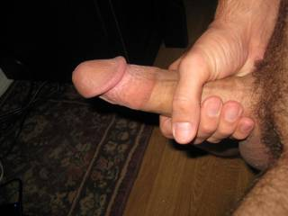 No, you have a big cock!!  I'd love to see a yummy video of you oozing cum!