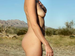 thank you for sharing that beautiful body with us.   I love being nude outdoors too ....