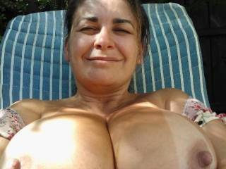 Letting my boobs have some sun :)