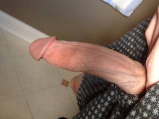 Morning wood!!!!! Wanna play just the tip???????