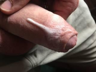 creamy with cum