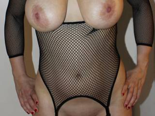 Hot woman in lingerie