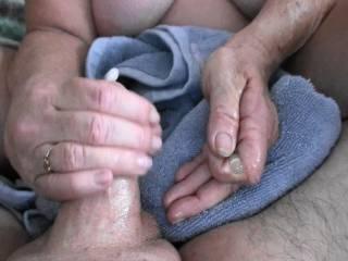 His cumshot after hand job and penis plug play, Anybody want that cum for their own?