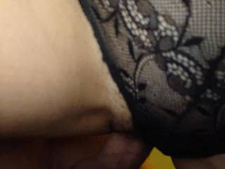 Fucking wife with her panties