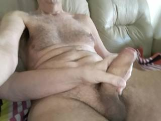 I love to pump my cock, and I love it more, when someone else pumps my cock