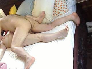 Who's next? Beautybird loves a deep pounding...Needs a fisting to really orgasm... She\'d love to try 2 really big cocks at the same time to fill both holes....Check out her feet and clenching toes!  Anyone else want a turn?