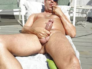 my preCUM taste good....can\'t wait till I CUM a lott..all over nyself..and lick it off my fingers..