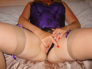 You don't have to anything except direct what you want done to you and for how long! You are so utterly sexy . Lucky lucky guy