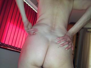She loves to be spanked, and lets me fuck her ass too (after a few !) - anyone else want to have a go?