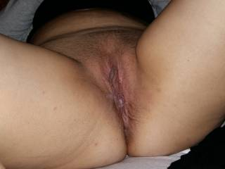 What a sweet pussy, would love to slide my hard cock in and fuck you balls deep