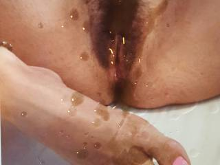 She made me cum hard.....again!