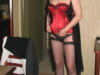 Great outfit. You are a fine looking lady.