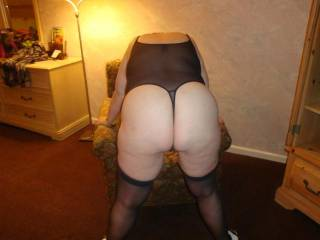 Awesome sexy ass will look and feel wonderful with my big hard cock stuffed between her sweet cheeks!