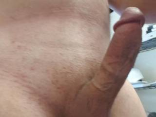 A pic of my hard cock. It needs some help to cum