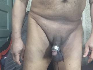 Ball stretcher and cock ring