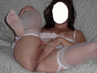 Mmmmm married sluts need to fuck too.  I'd love to fuck your slut wife. But I don't think she is a slut.  Just a horny married wife.  Wives make good lovers.  G
