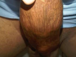 close up of my thick cock