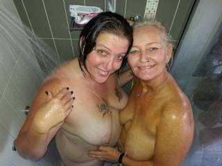 Is there room for a third? I'd love to join you both for some hot wet fun.