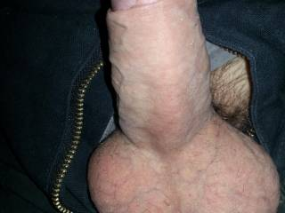 I want to lick those sweet balls and suck that beautiful cock off