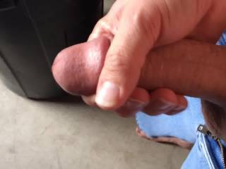 Like to give your hand a rest, wrap my lips around your awesome cock and suck you off