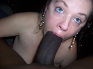 OMG now thats what I call a bbc.  Sweetie you have a mouth full.  Oh thats a hot cock. What do you mean WAS a big cock.  It is a big cock. K