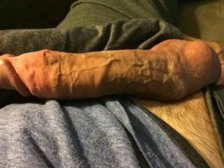 Anyplace you want to put this thick cock?