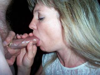 She is awesome handling your throbbing cock with such skill making it erupt its hot load filling her sexy mouth with warm creamy cum...So beautiful and sexy!