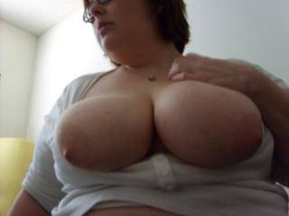 Would love to have hubby cum all over them so I could lick it all off! ~Mrs.Draxxon~