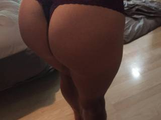 My girlfriend's ass