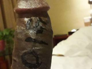 This was the first pic taken inside this cozy room in jiangjing, jiangsu, china. But later as my precum starts to flow all writings just vanished. Would u like the taste of that precum? Followed by load of my white hot cum juice in all over you?