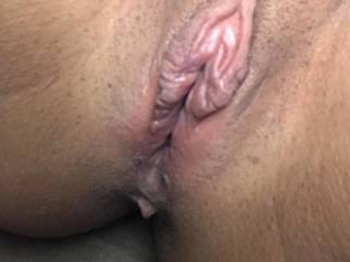 My Girlfriend spread Pussy