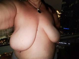 when your tits can block out the Vegas lights....