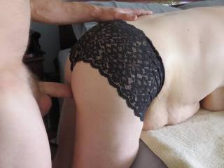 I was able to escape her amazing blowjob.  Pretty soon, I\'ll be in that amazing MILF pussy.