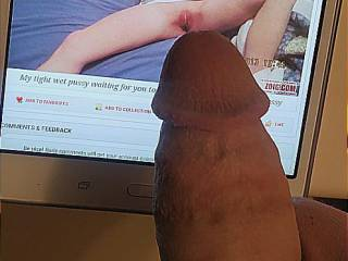 A special friend wanting to give me his fat cock thank you hunni