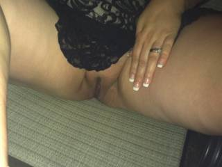 Wife ready for fun