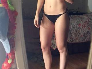 I have some of her and I together but she sent me a lot of this amazing body. 5\'5, 25, so sensual. So tight, so hot. I may post the videos