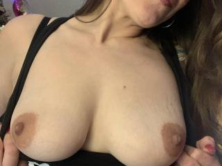 Never get tired of seeing boobs right ?