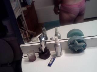 me and my pink panties