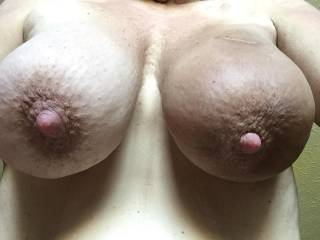 I want to wrap my lips sround your nipples and suck, suck, lick away!!