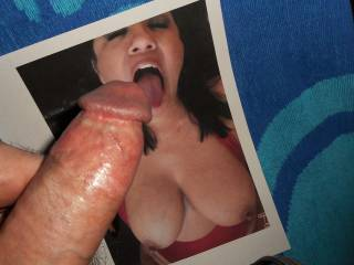 Wanting to feel Ms. Luvsumcum's tongue teasing under my swollen cock-head  >:)