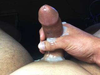 huge messy cum shot