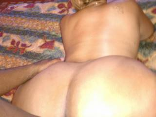 Huge ass, great cocksucker and she has some super wet and flexible pussy!!!