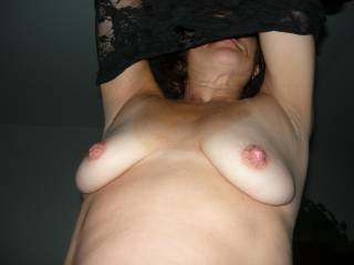 I could suck those incredible nipples for days!!!  I'd love to find out how much sucking it would take to get the right one to pop out and say hello!